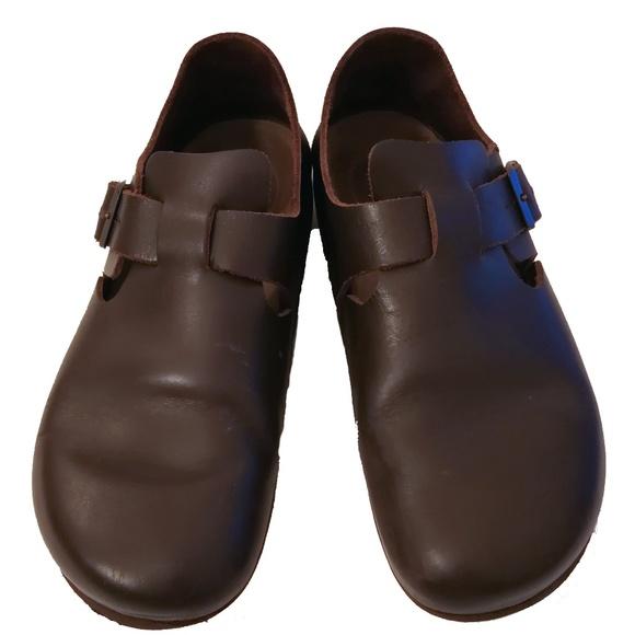 5ede40571c Birkenstock Shoes - Birkenstock London Women s 40 Brown Clog Shoes